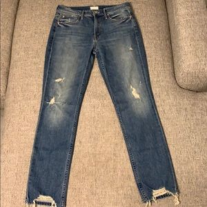 MOTHER Jeans - Mother distressed denim - size 26